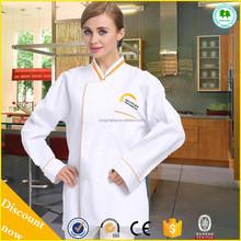 Cheap restaurant kitchen uniform chef coat for sale