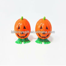 Hotest promotional plastic Chattering jumping pumpkin toy