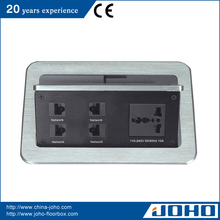 multi tabletop electric extension socket outlet for korea plug