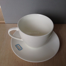Higt quality Popular Logo Promotional Ceramic cup with plate For Gifts from China Tianxin ceramic factory