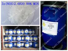 98% Zinc Nitrate hexahydrate Zn(NO3)2.6H2O