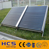Hot water heating vacuum tube solar collector