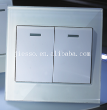 British standard 2 g 1 way wall /electrical switches