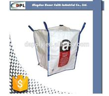 100% pp woven container bag FIBC 1 ton 2 tons for silicon