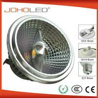 aluminium powerful cob high quality dimmable ar111 gu10 led/ar111 gu10 led cob dimmable