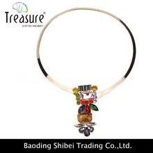 Bonito colares de cobre feito pingente
