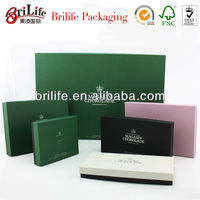 Paper Chocolate Gift Box With PET Insert