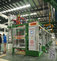 Fangyuan high quality eps styrofoam slab forming machine with vacuum system