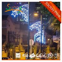 Large size Holiday party LED Street motif light/christmas decorations led light