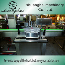 Fully automatic bottle washing filling capping machine