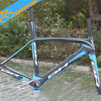 New 2015 carbon fiber road bike frame BH G6 frame and fork+headset+clamp route cadre carbone racing bicycle frameset