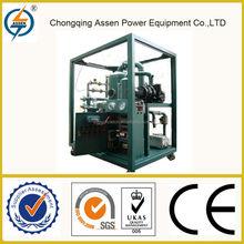 Hot sale high precision vacuum used transformer oil filtration unit