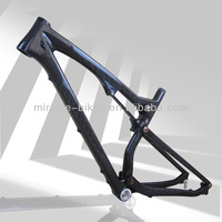 Full Toray carbon T700 26er carbon full suspension carbon mountain bike frame 26