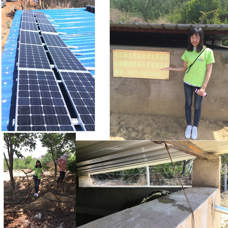 solar water pump system 113