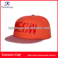 Custom Plastic Logo Fashion Hot Selling Snapback Hat Cap