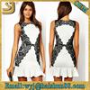 Cocktail dress,Woman party derss,White lace dress designs