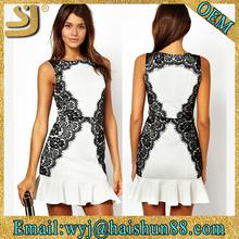 Cocktail dress,Woman party derss,White lace dress designs
