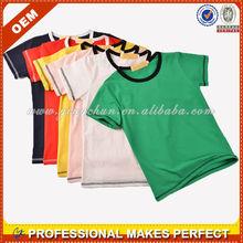 Wholesale cotton kids t shirt (YCT-A0195)