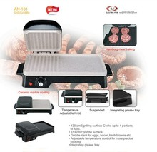 2 in 1Table -top BBQ Electric Contact Grill and Griddle 2015 Newly Products
