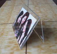Desktop Acrylic Photo Frame, Simple design Acrylic Picture Display stands