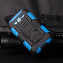 2015 Best Selling mobile phone shell Armor Impact Holster Belt Case For Samsung Galaxy Grand i9080/Duos i9082 Case Cover