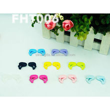 cute animal glasses temple ends/glasses shoe/plastic glass clip