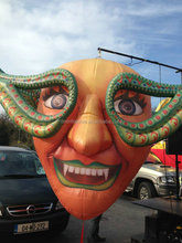 Top qualitiy i nflatable halloween decoration /inflatable scary clown masks