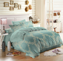 China Textile Luxury Modern Bedroom Sets with Duvet Cover Bed Sheet and Pillowcase