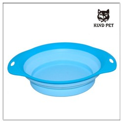 2015 fashion design collapsible dog folding bowl easy to carry