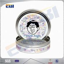 Aluminum round tin boxes wholesale