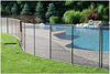 durable lightweight polyester mesh fabric for swimming pool fencing