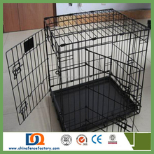 heavy duty dog cage DC1100/ Dog Cage/pet cage/big iron dog cage with wheels and tray for sale cheap