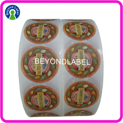 Printing Self Adhesive Custom Waterproof Label,Printing Custom Roll Paper Adhesive Label.