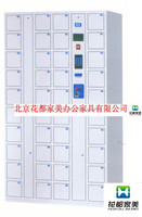 Stainless Steel PIN Code System 40 door Electronic storage locker/safe locker multiple cell phone charging station