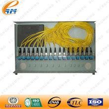 1x16 rack de montagem do cabo divisor plc