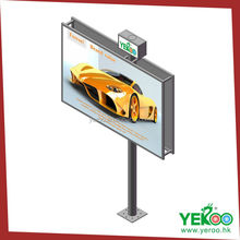 Stands road sign steel scrolling advertising billboard