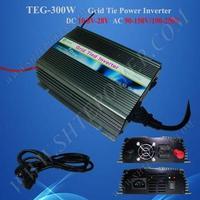 Grid Inverter 300W DC AC Micro Inverter 12V/24V DC to 110V/120V/220V/230V/240V AC
