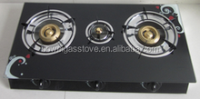 3 burners Black Tempered Glass Gas Cooker,Gas stoveBW-XK3013C