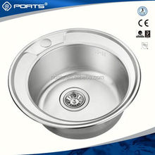 Professional manufacture factory directly frank double bowl stainless steel sink of POATS