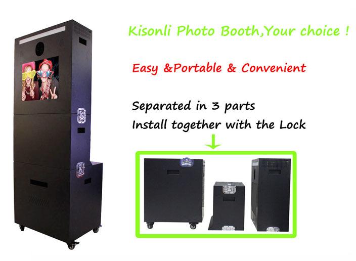 Дешевое цена портативный Photo Booth цифровая фоторамка стенд для продажи