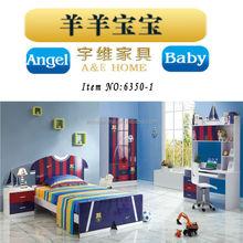 6350-1 modern design kids child bed kindergarten smart kids bedroom furniture