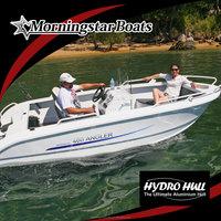 17ft aluminum motor boat