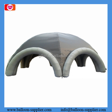 Big party tent/inflatable tent grey arch tent for outdoor activites