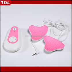 Hotsale breast beauty enlargement portable machine pink breast massager to relieve your pain in breast