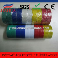Rubber adhesive colored pvc insulation 3m tape