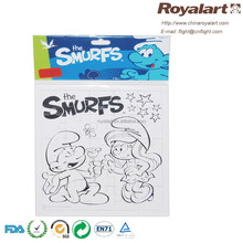 Drawing/painting puzzle stationery set