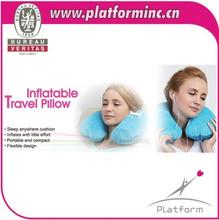 U Shape Inflatable Travel Neck Pillow