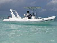 Liya OEM factory sales 6-7m deep V frp hull inflatable rib boats for sale