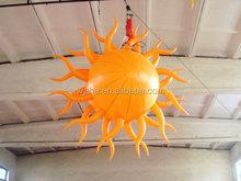 Good design inflatable star/glitter hanging star