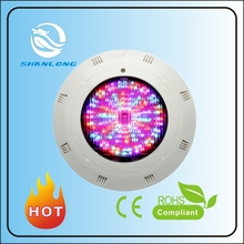 China supply Multi Color Wall-mounted Swimming Pool Light Led CE and ROHS underwater light multi color led swimming pool light